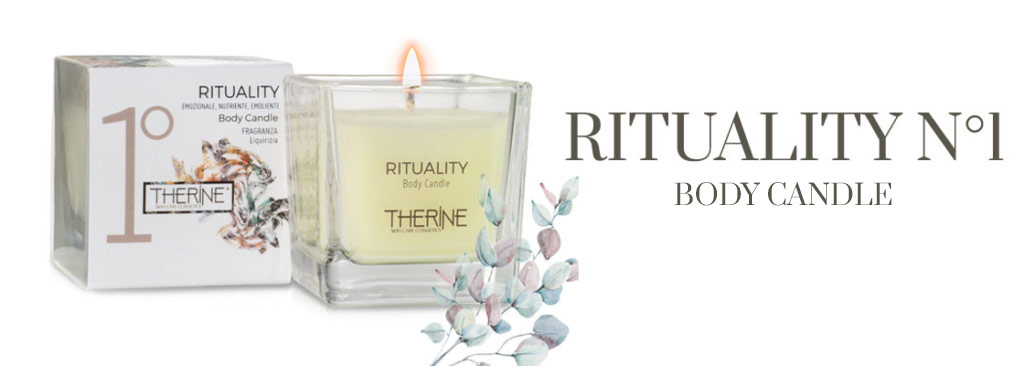 Rituality 1 Body Candle Therine Skin Care